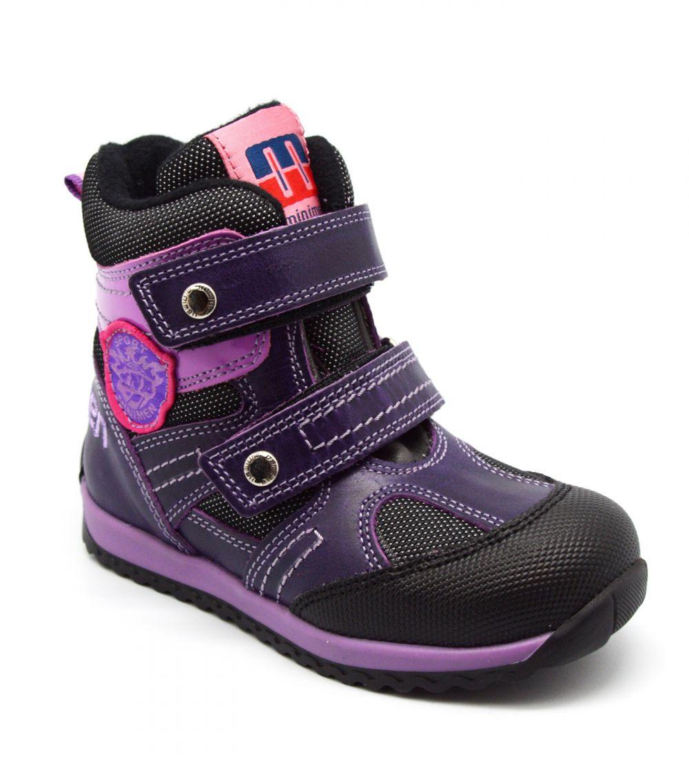 96e7d1897 Minimen, утепленные ботинки 4000-43-5B (03) - купить в интернет ...